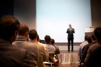 BUSINESS CONFERENCE © mbbirdy | iStockPhoto